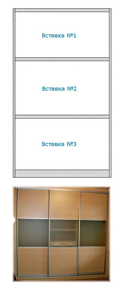 Две вставки: Система дверей: